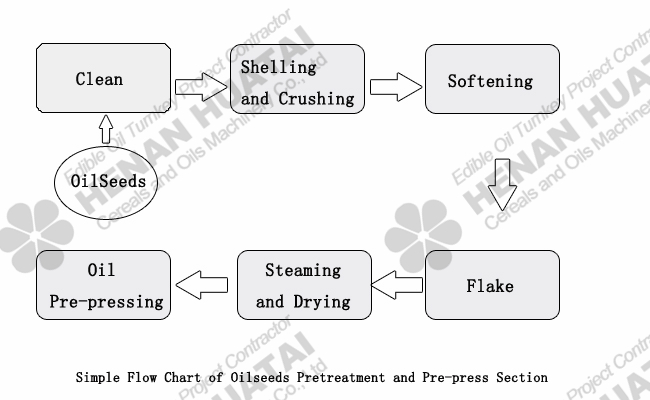 oilseeds pretreatment equipment